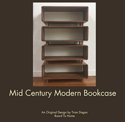 Mid Century Modern Bookcase 41avleferJL