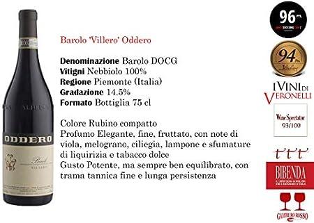 Oddero Barolo Villero DOCG 2012-1.5L Magnum