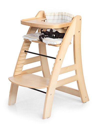 Amazoncom Sepnine Height Adjustable Wooden Highchair Baby High