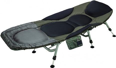 Sänger Anaconda Cusky Bed Chair - Tumbona acolchada de aluminio, 6 patas: Amazon.es: Deportes y aire libre