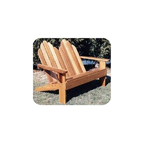 (Woodworking Project Paper Plan to Build Classic Adirondack Loveseat)
