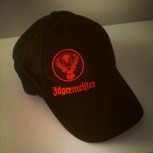 Jagermeister Baseball Hat Black Adult One Size