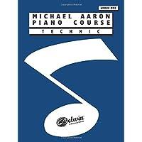 Michael Aaron Piano Course Technic: Grade 1 by Michael Aaron (1994-02-01)