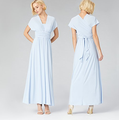 Donna Jersey amp; Cotone Maxi kentucky Blue Blu In Truth Dress Fable 6nZ0qqH