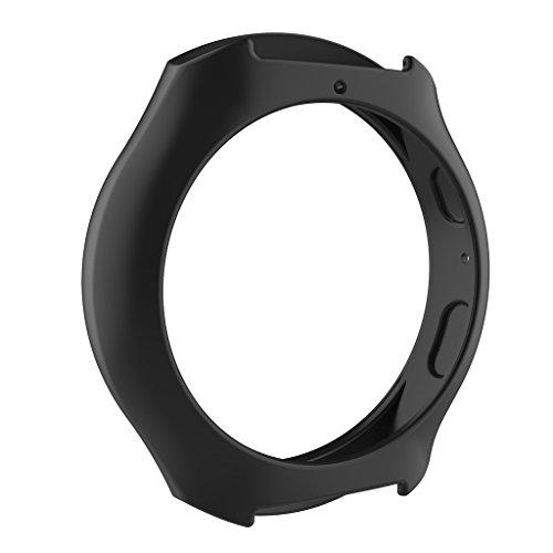 Silicone Watch Band for Samsung Galaxy Gear S2 SM-R720 (Black) - 6