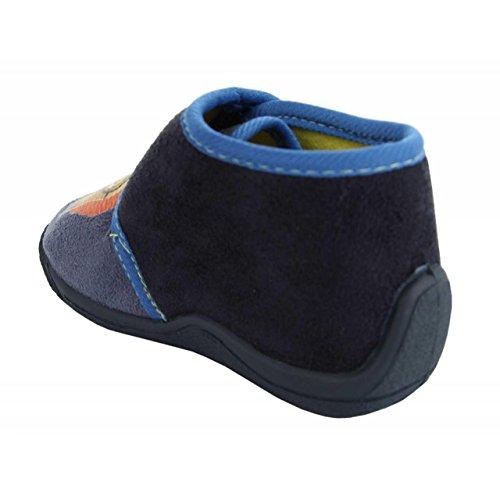 Pantoufles pour Garçon et Fille DISNEY DE000333-B0230 GBLUE-NAVY