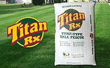 Titan RX 5 LB (Titan Rx Tall Fescue Grass Seed With Rhizomes)