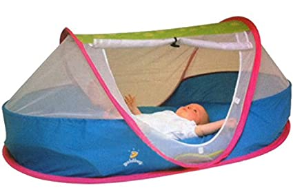 Goldbug Portable Foldable Newborn Baby Crib Tent Toddler Pea Pod Travel Cot Bed Mesh  sc 1 st  Amazon.com & Amazon.com : Goldbug Portable Foldable Newborn Baby Crib Tent ...