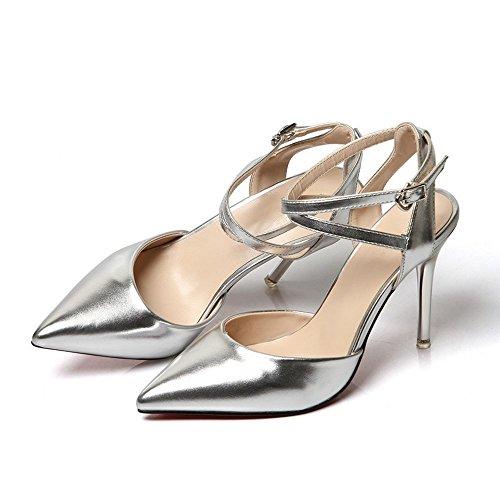 BAJIAN di Peep estivi sandali Alta heelsWomen Ladies sandali toe scarpe scarpe basse Flop LI Flip qwYaXRrxY