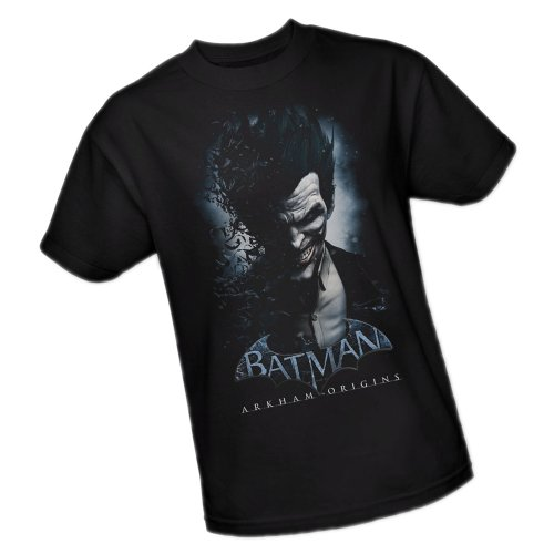 The Joker -- Batman Arkham Origins Adult T-Shirt,