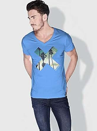Creo La X City Love T-Shirts For Men - L, Blue