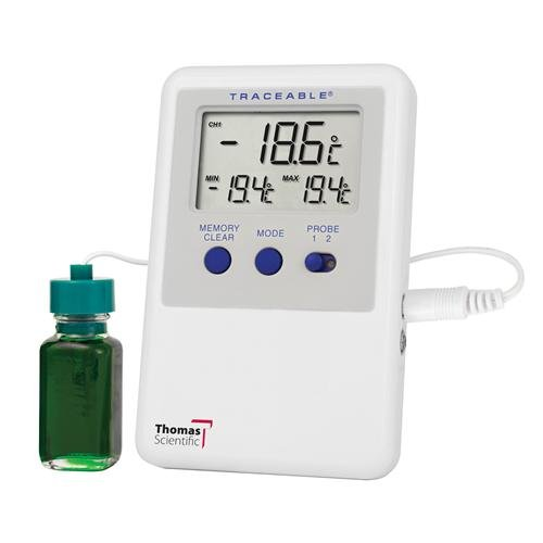 Thomas 4731 Traceable Ultra Refrigerator Thermometer 2 Bottle Probe
