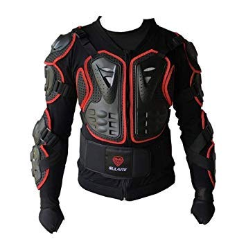 Uniqus BA-03 SUV Motorbike Bicycle Outdoor Sports Armor Predective Jacket, Size  M(Red)