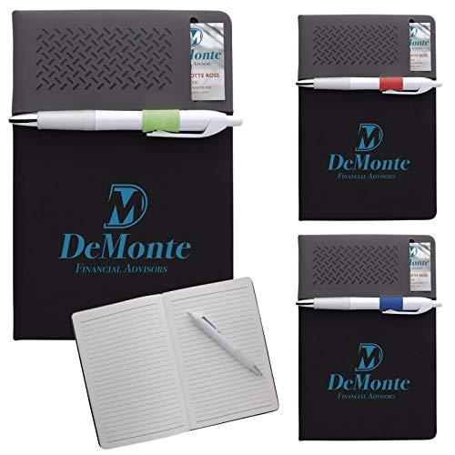 Good Value Business Pocket Journal Black/Royal 250 Pack