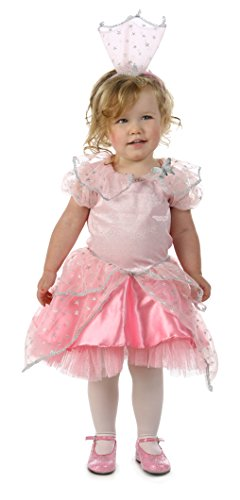 [Princess Paradise Baby the Wizard of Oz Glinda Glitter Costume, Pink, 18 to 24 Months] (Good Witch Of Wizard Of Oz)