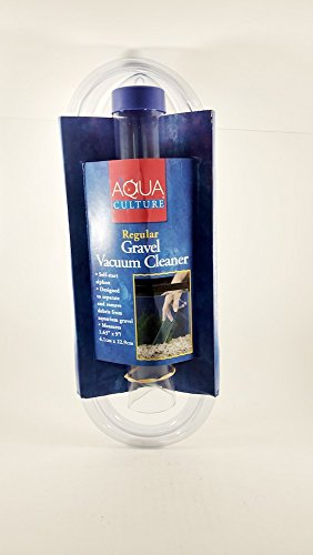 - Aqua Culture Regular Gravel Vacuum Cleaner for Aquarium