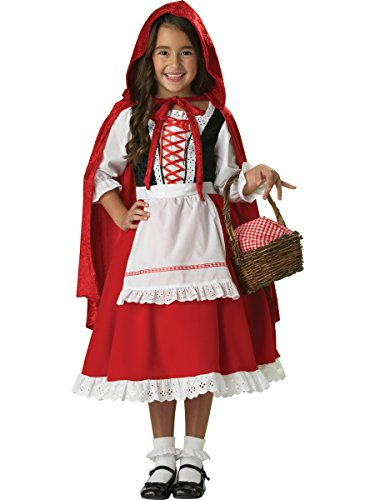 [InCharacter Costumes Girls 2-6X Little Red Riding Hood Dress Set, Small] (Red Halloween Kids Costumes)