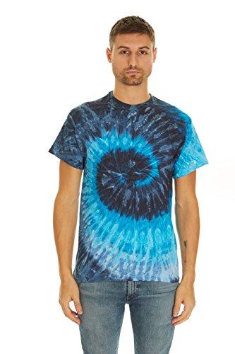 Krazy Tees Tie Dye T-Shirt, Evening Sky, L