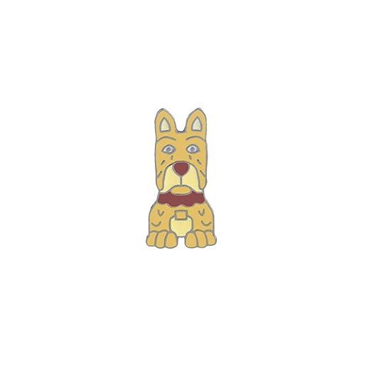 MSYOU Broche con diseño de Perro de Dibujos Animados, Accesorio ...