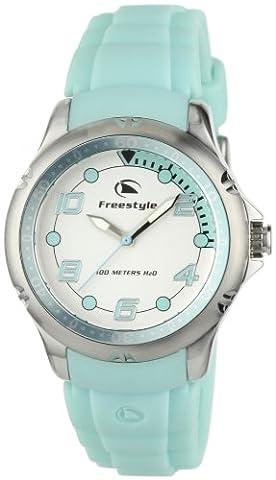 Freestyle Women's FS84960 Hammerhead XS Classic Round Analog Japanese Quartz Green Watch (Freestyle Shark Green Watch)