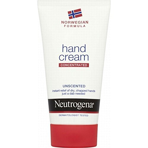 Neutrogena Hand Cream Lotion Unscented (75ml) - Pack of 2