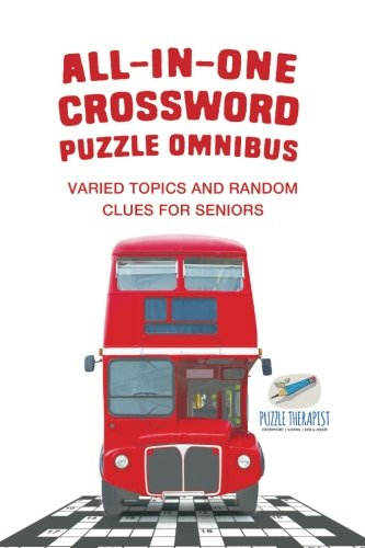 All-in-One Crossword Puzzle Omnibus | Varied Topics and Random Clues for Seniors