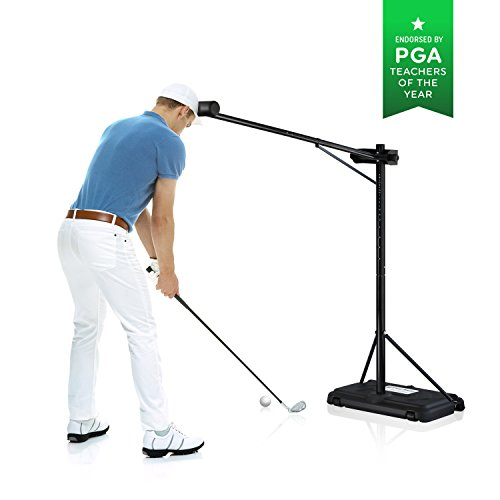 PRO-HEAD Golf Swing Trainer Golf Training Aid for All Golfers - Posture Correcting Tool (Portable) (Best Golf Swing Trainer Reviews)