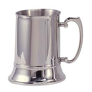 Stainless Steel Beer Mug 16 oz
