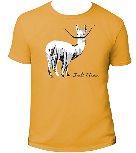 [Dali Llama T-Shirt - Unisex - For the Pun Lover - XL] (Llama Stands)