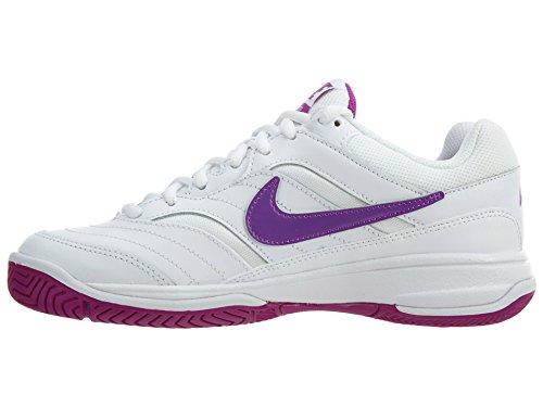 Scarpa da tennis Lite Lite da donna, Bianco / Viola vivo / Bianco, 6.5 B (M) US