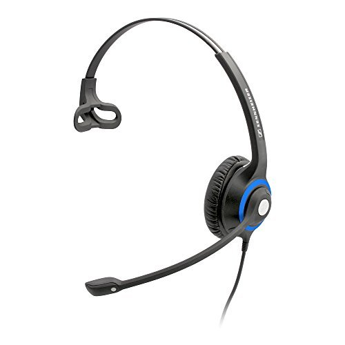 Sennheiser DeskMate Single-Ear Corded Office Headset. Most Comfortable Headset in the World. Includes 4-year (Corded Headset Amplifier)