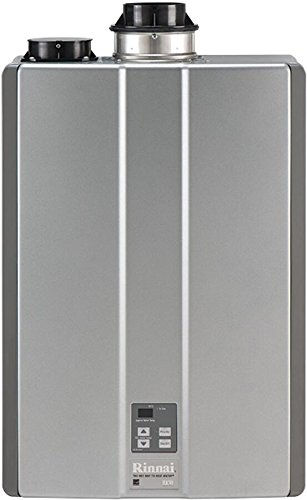 (Rinnai RUC90iP Ultra Series Condensing Indoor Propane Tankless Water Heater, 9.0 GPM)