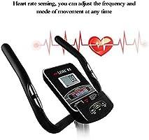 Ndoor ciclismo, bicicleta de ejercicio, sensor del ritmo cardíaco ...