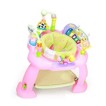 Jumping Chair with Sounds, Lights and Toys Happy Baby