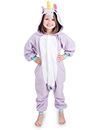 d80022634c Kids Animal Unicorn Pajama Onesie - Soft and Comfortable with Pockets ·  Emolly Fashion