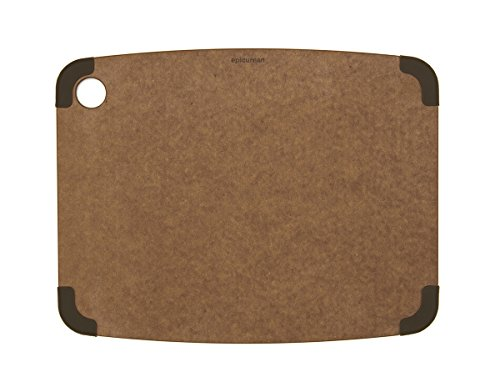 Epicurean Non-Slip Series Cutting Board, 14.5-Inch by 11.25-Inch, Nutmeg/ Brown