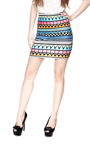 Women\'s Mädchen Kleid Mini RockHose Slim High Waist Fashion Bandage ...