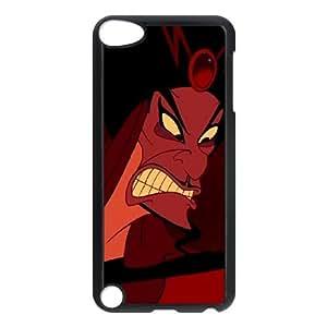 Disney Aladdin Character Jafar funda iPod Touch 5 caja funda del teléfono celular negro cubierta de la caja funda EEECBCAAB16357