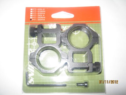 30mm heavy duty scope ring for Picatteny/weaver rail on sale, HIGH profile