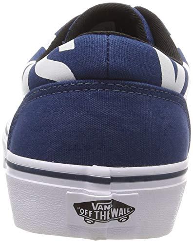 Para Logo Azul Vans big Vf6 white Sailor Logo Hombre Big Zapatillas Doheny Blue wIIqC8