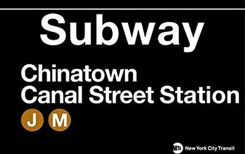 Chinatown Metal Subway Sign (Subway Sign)