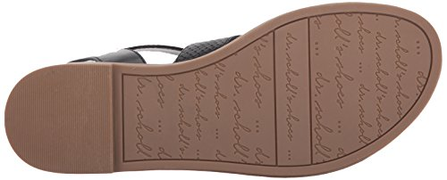 Scholl Dr Scholl's Womens Dr Nero Black Liscio Smooth Donne Evelyn Di Evelyn 0rq0g