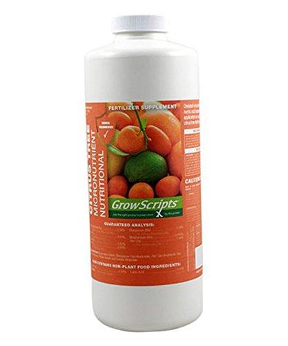 GrowScripts 32-Oz. Citrus Micronutrient Concentrate