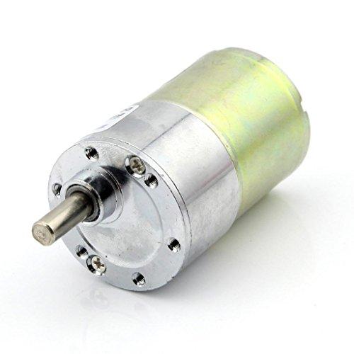 Owfeel 12V DC 300 RPM Gear Box Motor High Torque 5000r/min