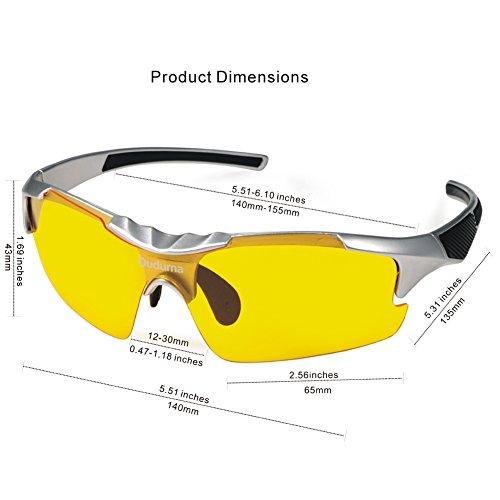 8cab48f9c35 Aeropost.com Jamaica - Duduma Yellow Night Vision Polarized Sunglasses  Glasses for Driving Fishing Shooting Multicolor Frame Uv400