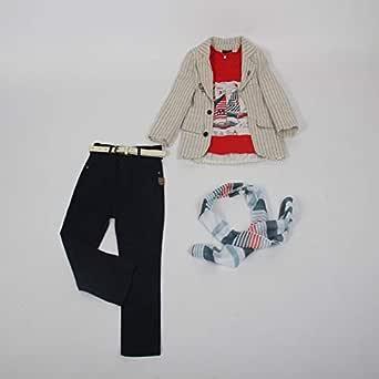 Three-piece boy's trousers