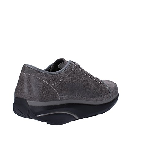 MBT Sneakers Herren 42 EU Grau Leder / Wildleder