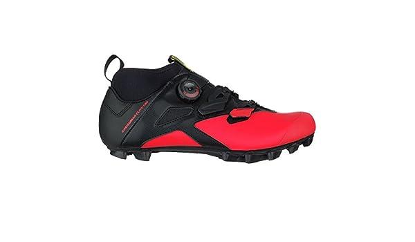 44cbc0bf296 Mavic Crossmax Elite cm Cycling Shoe - Men's Black/Fiery Red/Black, US  13.0/UK 12.5: Amazon.ca: Sports & Outdoors