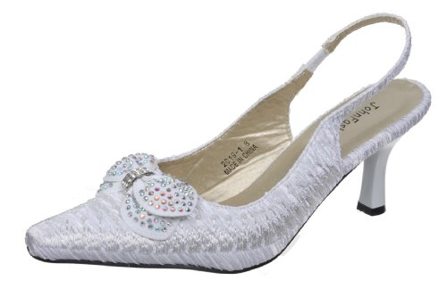 JohnFashion Pour Blanc Fashion Sandales John Femme Rwqx5gv5p