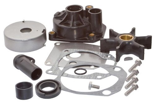 SEI MARINE PRODUCTS- Compatible with Evinrude Johnson Water Pump Kit 0438579 70 & 75 HP 2 Stroke 3 cylinder - Cylinder Key Housing Kit